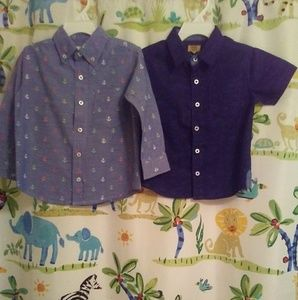 crown and ivy and true craft Shirts & Tops - 2 toddler shirts